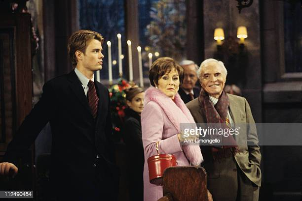 CHILDREN Christmas show 12/22/99Josh Duhamel Marj Dusay and James Mitchell in a scene on Walt Disney Television via Getty Images Daytime's All My...