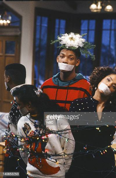 AIR 'Christmas Show' Episode 13 Pictured Alfonso Ribeiro as Carlton Banks Tatyana Ali as Ashley Banks Will Smith as William 'Will' Smith Karyn...
