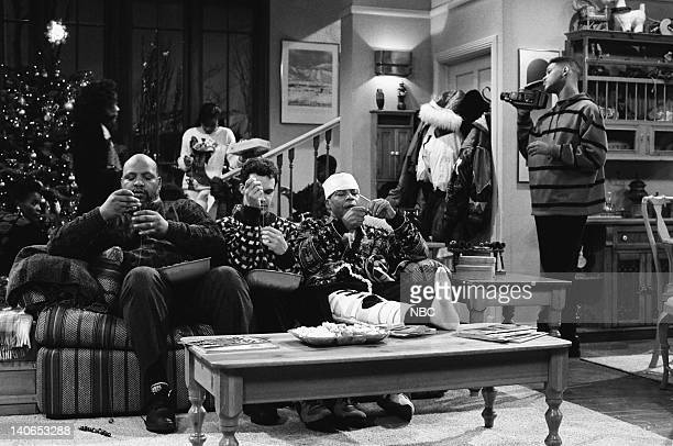 AIR Christmas Show Episode 13 Pictured James Avery as Philip Banks Diedrich Bader as Frank Schaeffer Felton Perry as Lester Will Smith as William...