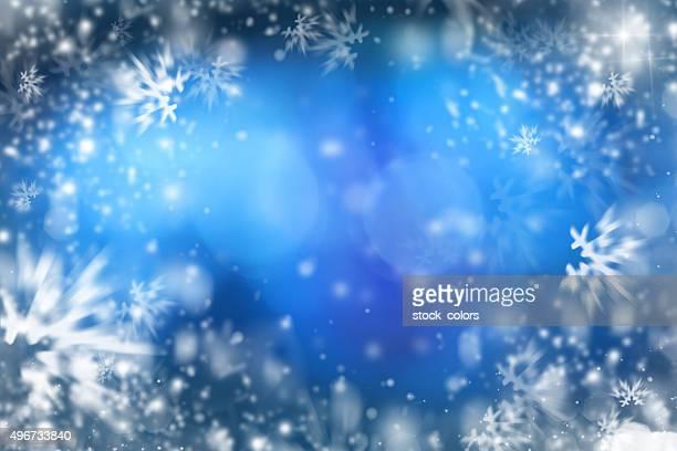 クリスマス snawflakes フレーム