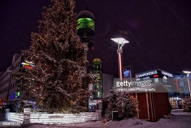Christmas Snow in Rovaniemi, Finland