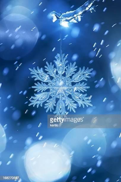Weihnachten Schneeflocke-Schneekristall