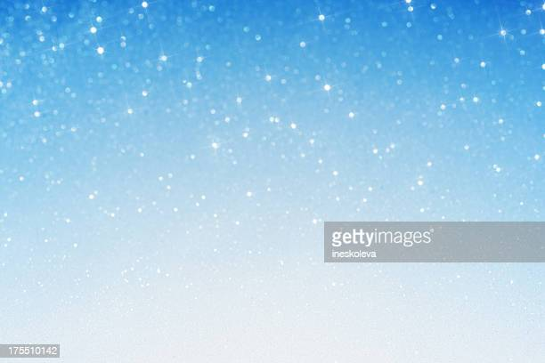 christmas sparkles - snowflake background stock photos and pictures