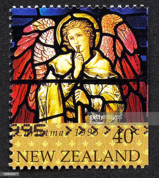 Christmas stamp from New Zealand