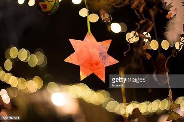 christmas star - christmas star stock photos and pictures
