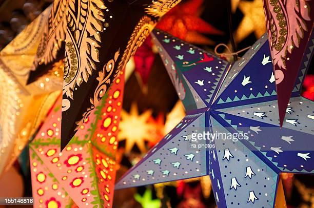 Weihnachten-stars