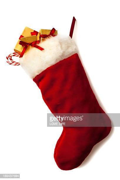 Christmas Stocking and Garland