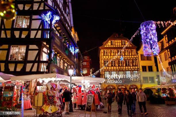 Christmas Strasbourg Alsace France Europe