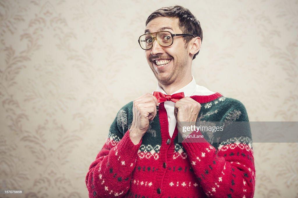 Christmas Sweater Uncool : Stock-Foto