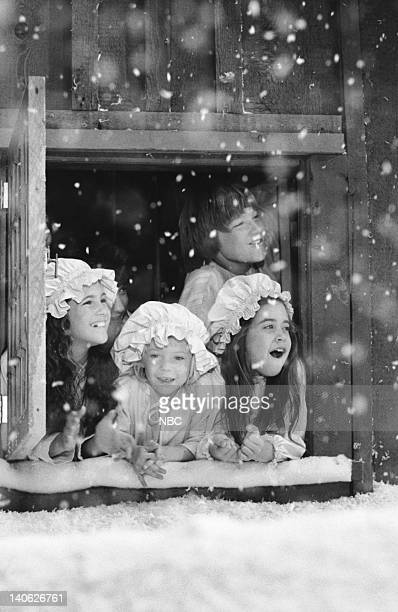 PRAIRIE A Christmas They Never Forgot Episode 11 Aired 12/21/81 Pictured Lindsay Greenbush as Carrie Ingalls Wendi Turnaugh as Grace Ingalls Missy...