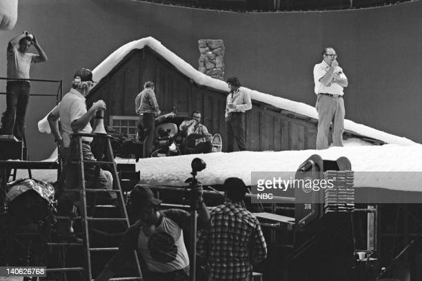PRAIRIE A Christmas They Never Forgot Episode 11 Aired 12/21/81 Pictured Various cast and crew while filming Photo by NBCU Photo Bank