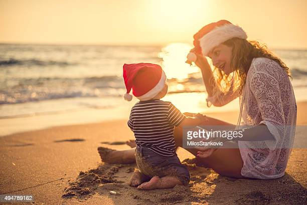 Christmas time at the beach
