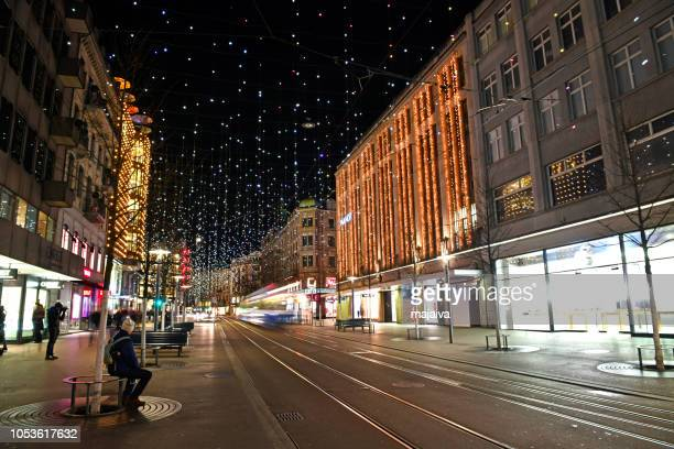Christmas time in old town of Zurich, Switzerland