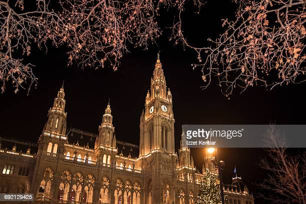 Christmas time in Vienna Austria
