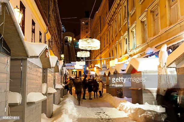 Christmas time in Zagreb