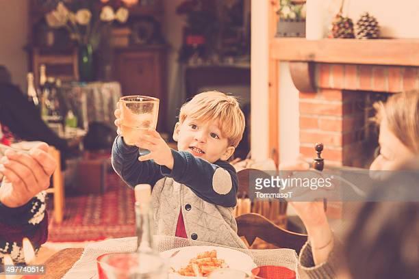 Christmas toast