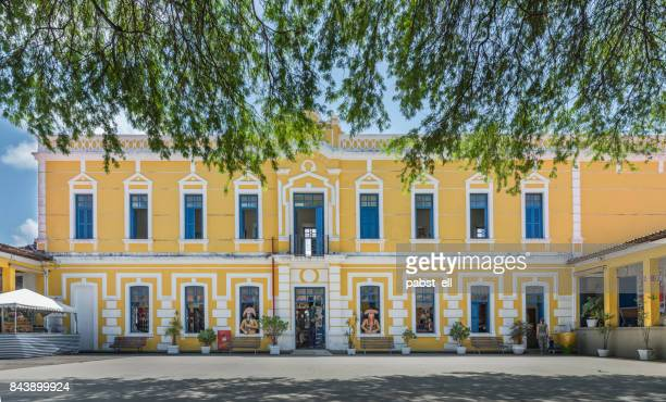 christmas tourism center internal facade - natal brazil stock pictures, royalty-free photos & images