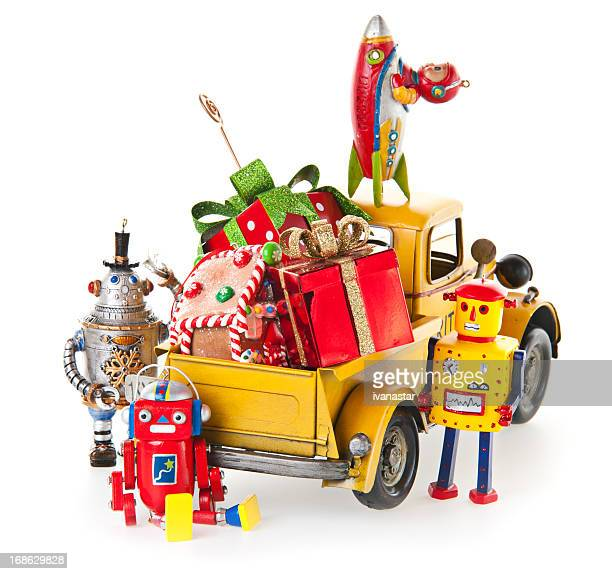 Brinquedos de Natal e presentes