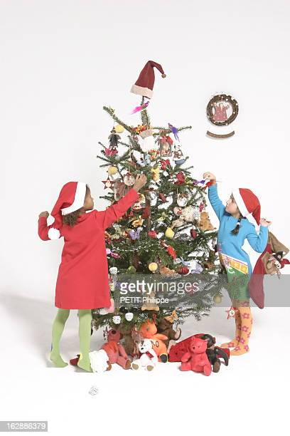 Christmas Tree And Decorations Les sapins de Noël le sapin traditionnel Sapin naturel Nordmann Truffaut Ange Pain d'épice Père Noël en chocolat au...