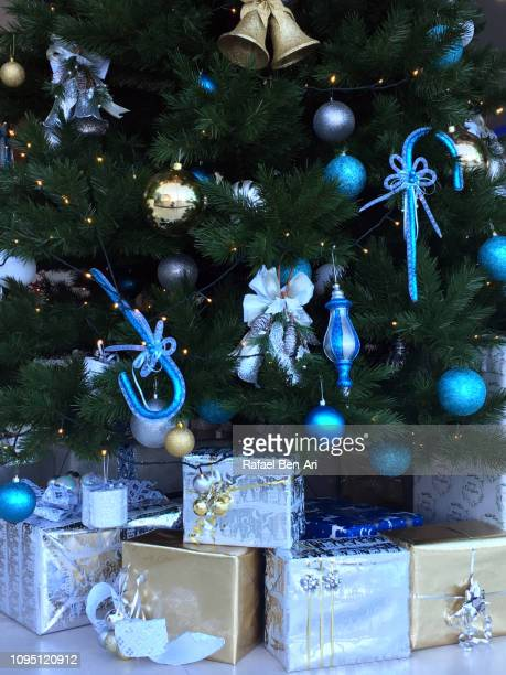 Christmas Tree and Gift Boxes