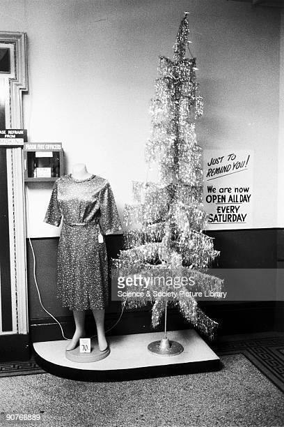 Christmas tree and headless mannequin, department store display. Tony Ray-Jones created most of his images of the British at work and leisure between...