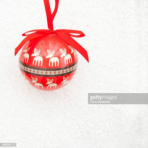 christmas tree ball - santa fe province stock photos and pictures