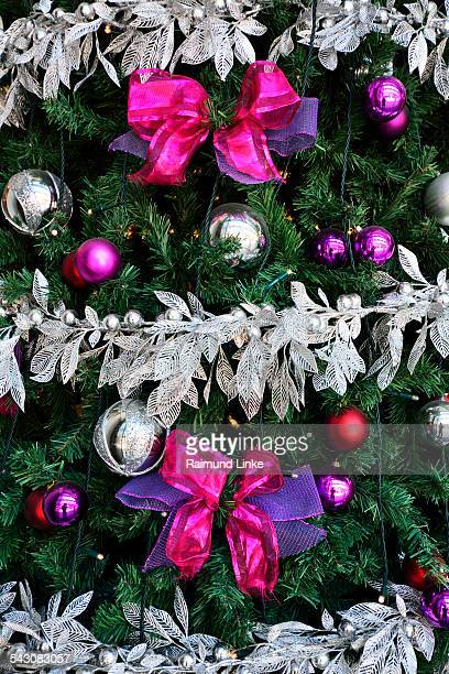 christmas tree balls and christmas decorations - adelaide festival stock pictures, royalty-free photos & images
