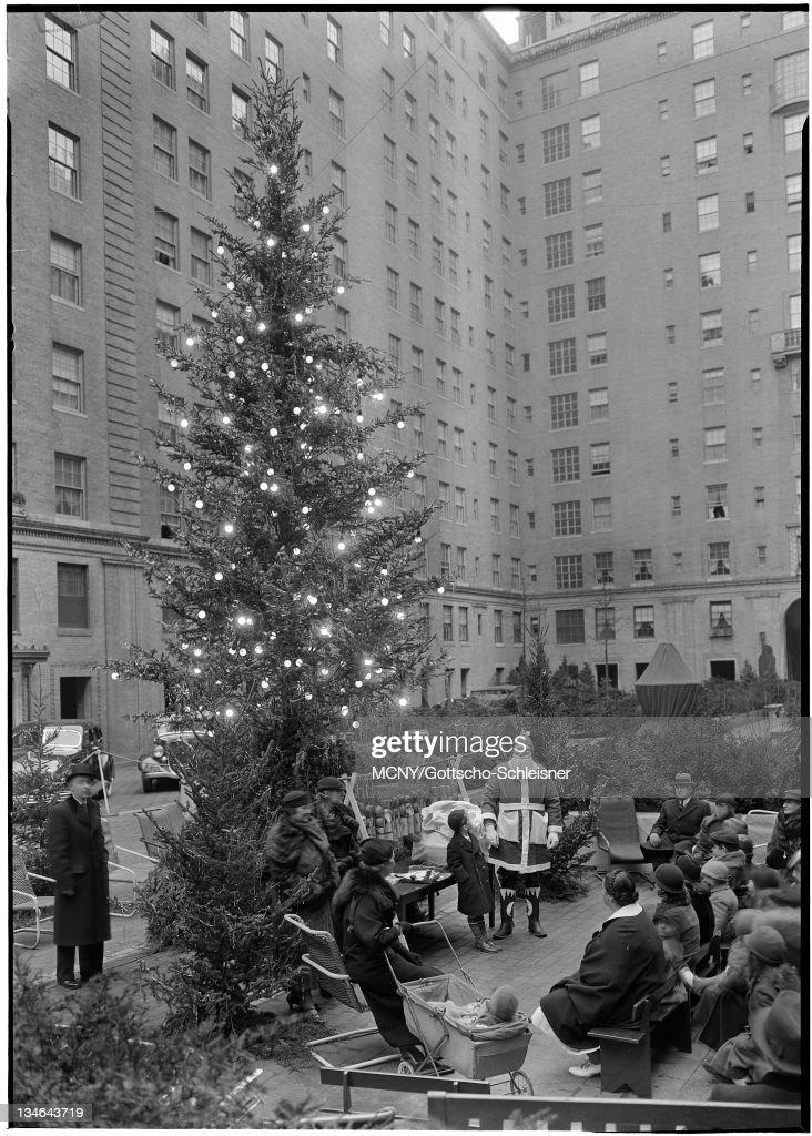 Rockefeller Center Inc. 20 Rockefeller Plaza. : News Photo
