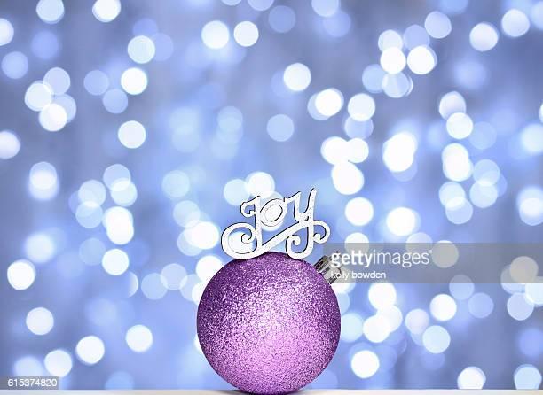 christmas tree joy bauble