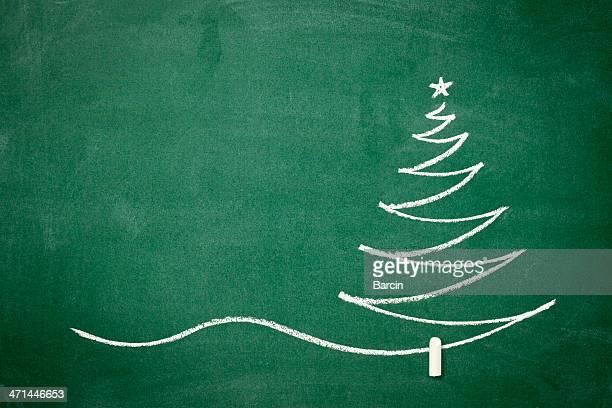 Weihnachtsbaum auf die Tafel