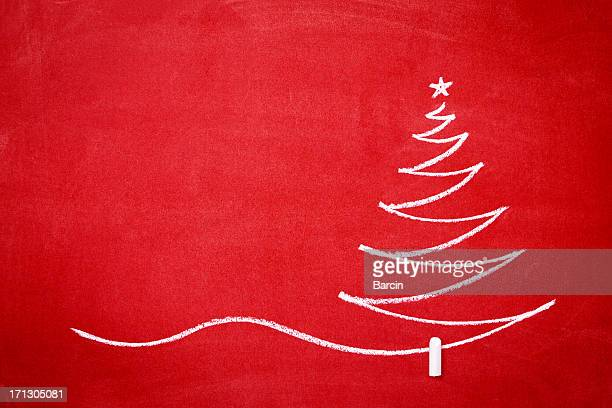 Christmas tree on the redboard