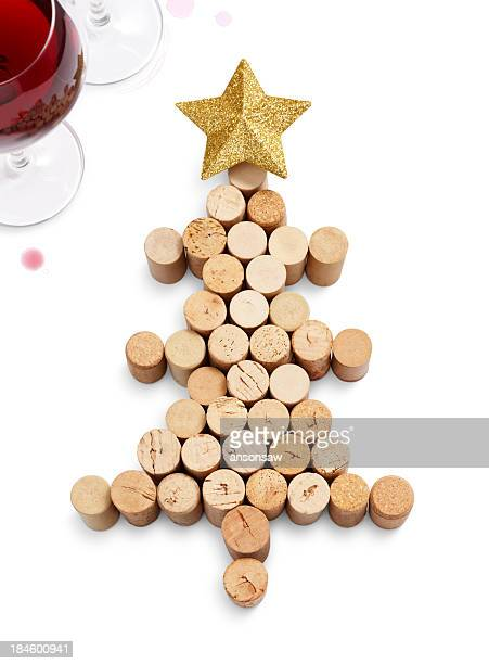 christmas tree - cork stopper stock pictures, royalty-free photos & images