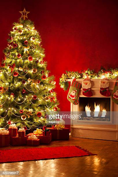 christmas tree - vertical stock pictures, royalty-free photos & images