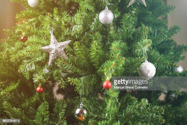 christmas tree - christendom stockfoto's en -beelden