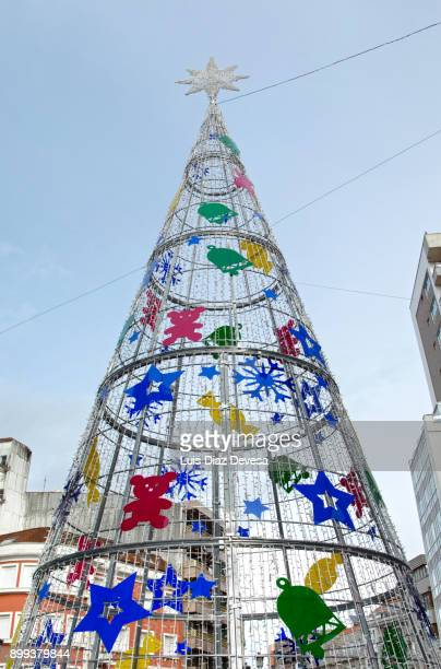 Christmas tree seen by day