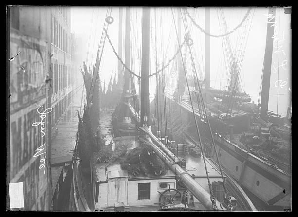 Christmas Tree Ship In A Dock With John Mee Gl Warren On Board