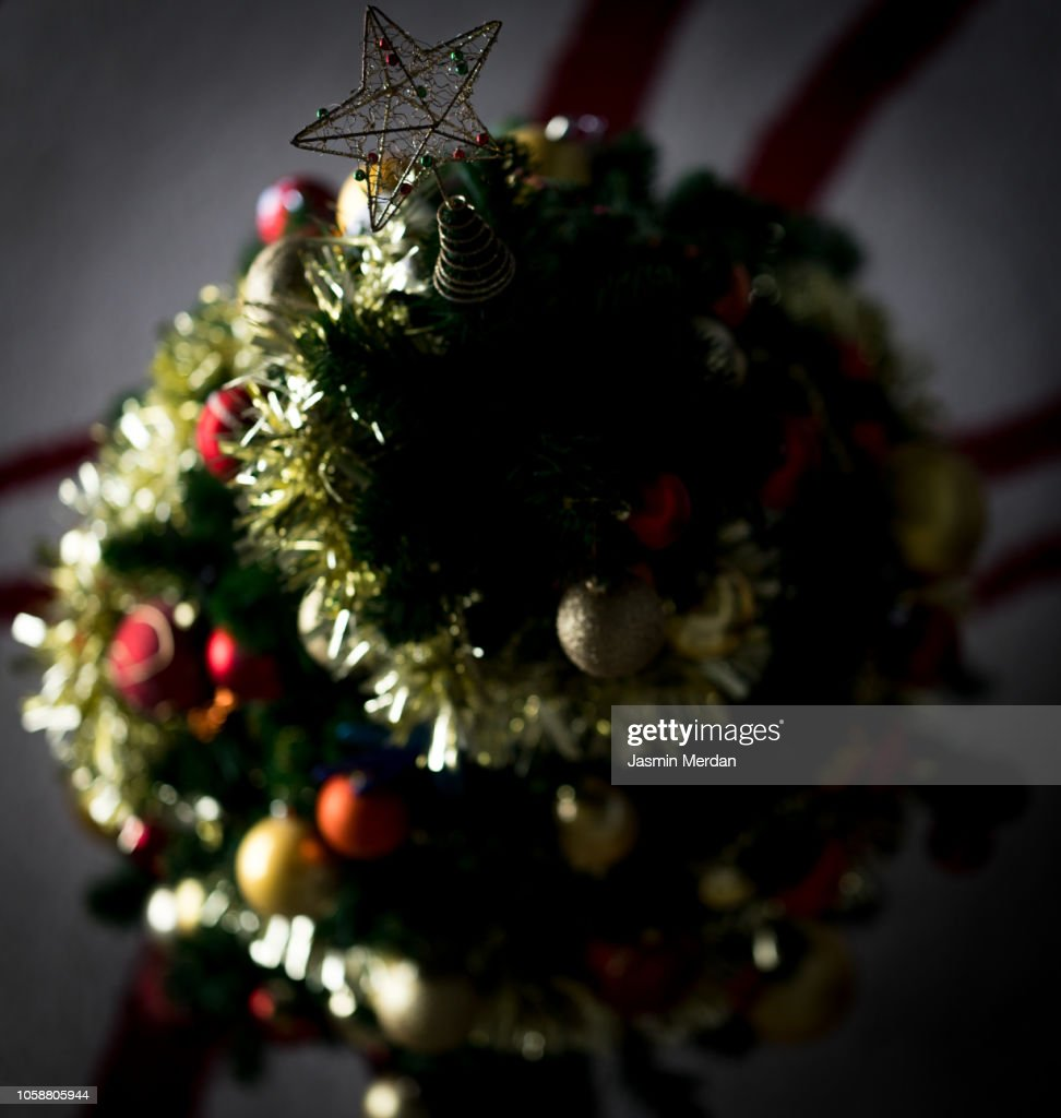 Christmas Tree Top View.Christmas Tree Top View High Res Stock Photo Getty Images
