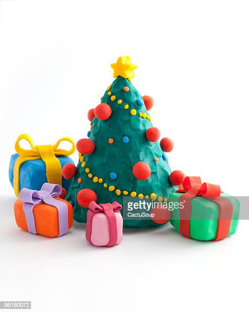 christmas tree with a presents