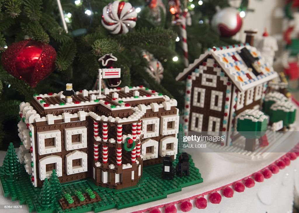 Christmas Trees And Holiday Decorations Including Lego