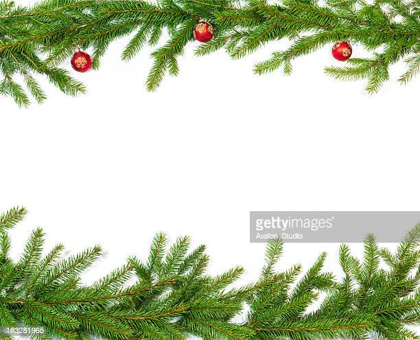 christmas twig decoration - spruce tree stock pictures, royalty-free photos & images