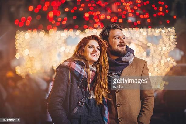 weihnachts-urlaub - weihnachtsmarkt stock-fotos und bilder