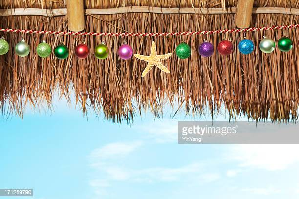 Christmas Winter Vacation in Warm Tropical Beach Paradise