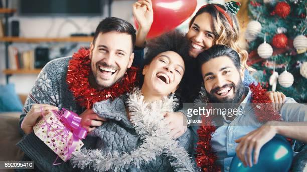 お友達とクリスマス。
