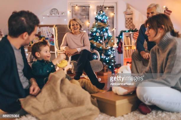 Noël avec toute ma famille