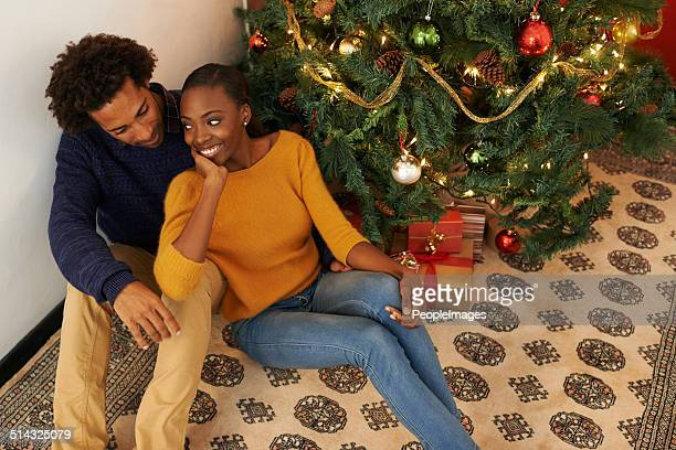 Christmas with the one she loves