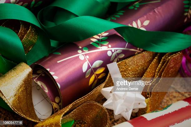 Christmas wrapping materials