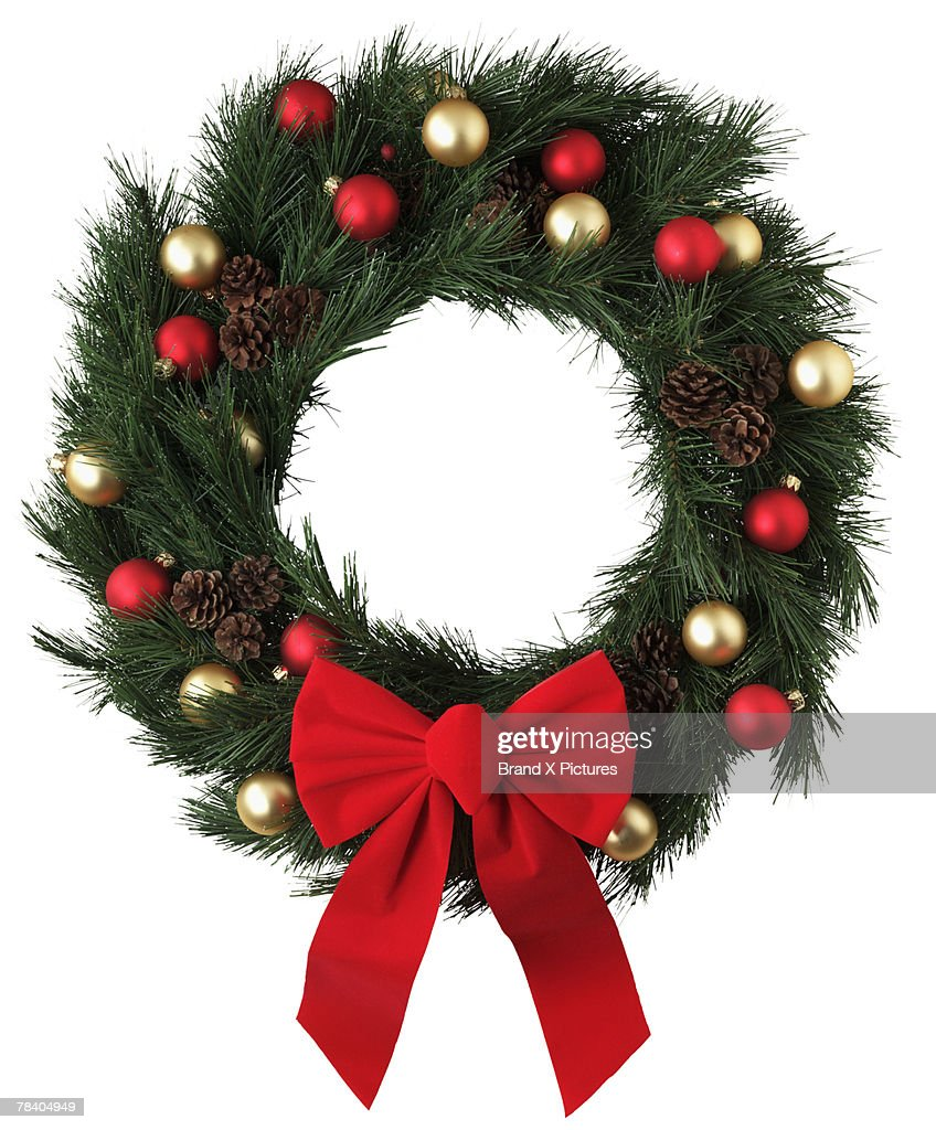 Christmas wreath : Foto de stock