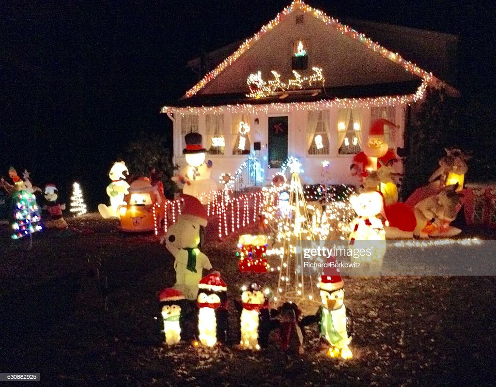 Christmas Lighting Pictures   Getty Images