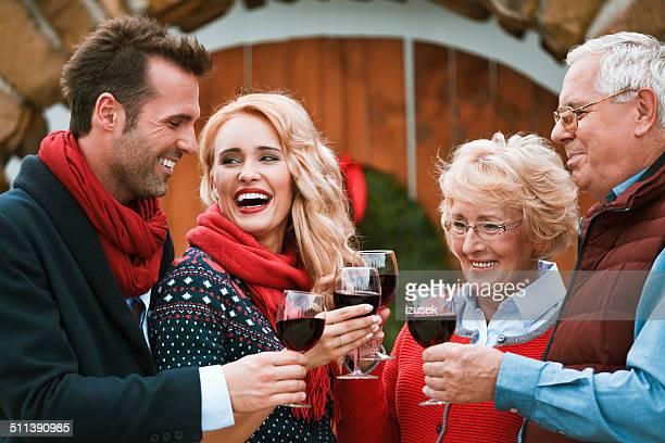 Christmast toast
