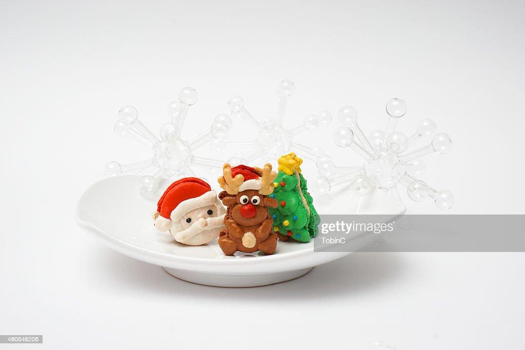Christnas las cookies : Foto de stock